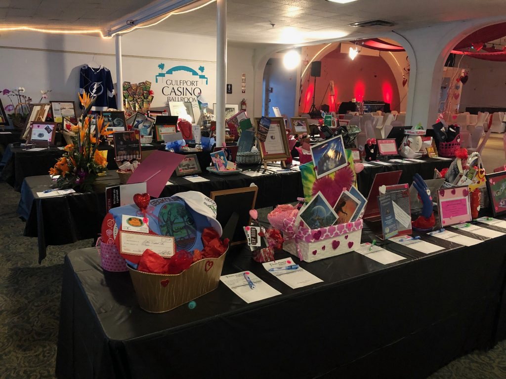 Photo of Silent Auction items