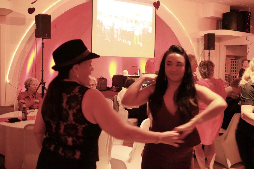 photo of women dancing